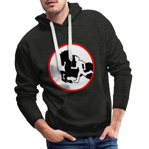 Horse Agility Logo - Männer Premium Hoodie