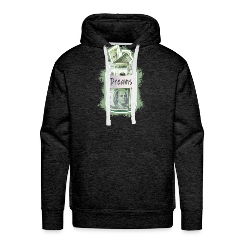 DREAM MONEY | Success Designs - Männer Premium Hoodie