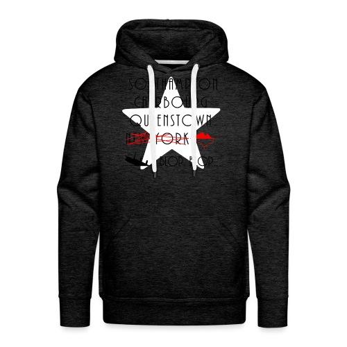Épopée du Titanic... blop blop... - Sweat-shirt à capuche Premium pour hommes