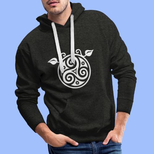 Triskell - Sweat-shirt à capuche Premium pour hommes