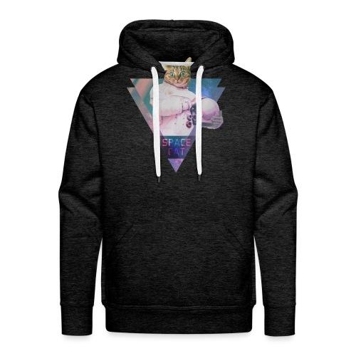 SPACE CAT - Katze aus dem All - Männer Premium Hoodie