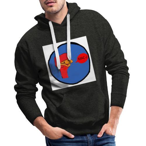 de struisvogel - Mannen Premium hoodie