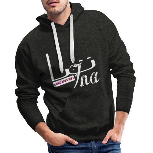 LONG LIVE US - Sweat-shirt à capuche Premium pour hommes