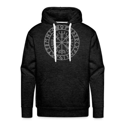 vegvisir Wegweiser Kompass Island Schutzsymbol - Männer Premium Hoodie