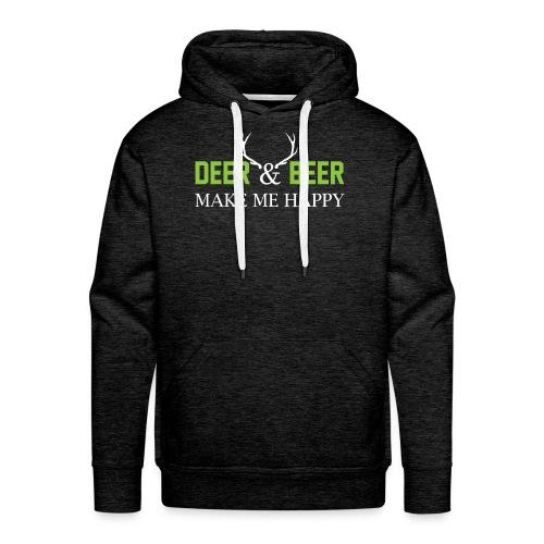 Deer Beeer2 - Männer Premium Hoodie