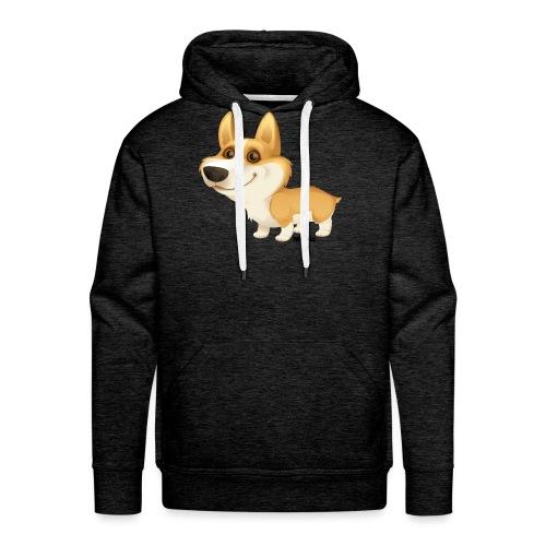 Corgi - Mannen Premium hoodie