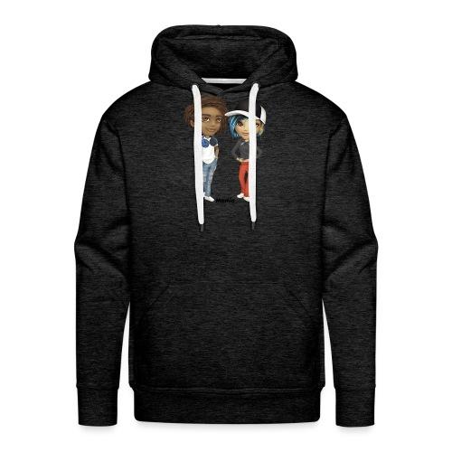 Maya & Noa - Mannen Premium hoodie