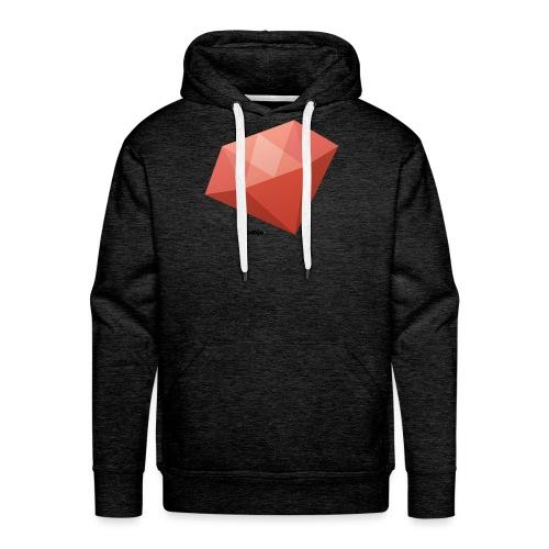Diamant - Mannen Premium hoodie
