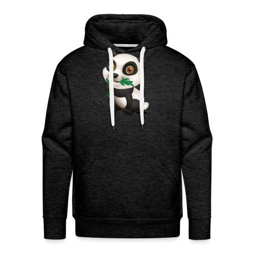 Panda - Herre Premium hættetrøje