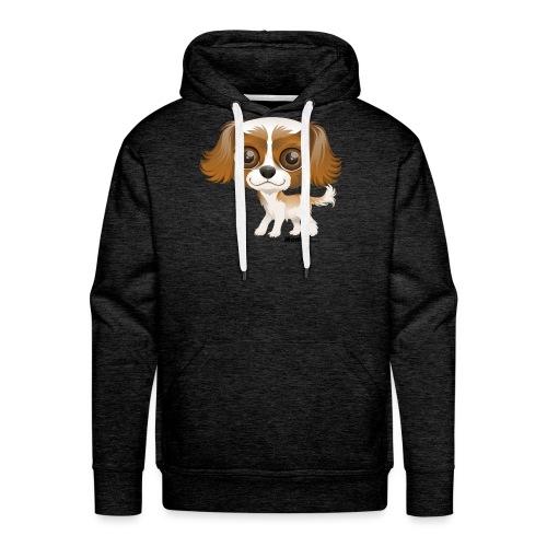 Hund - Premium hettegenser for menn
