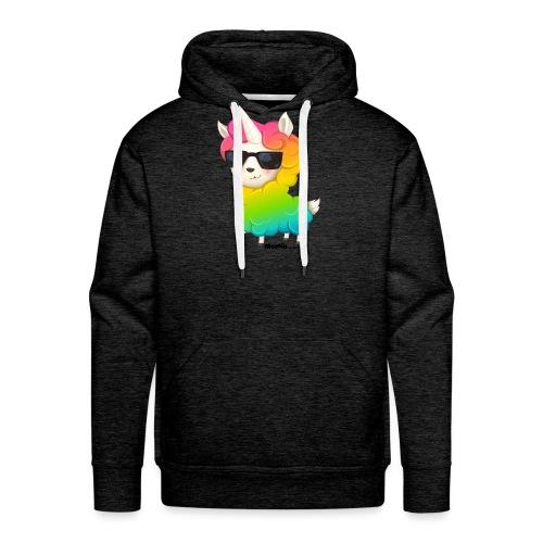 Rainbow animo - Bluza męska Premium z kapturem