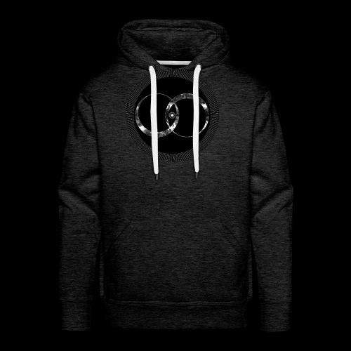 Distortion - Sweat-shirt à capuche Premium pour hommes
