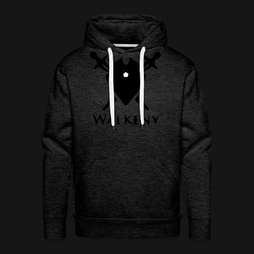Walkeny Schwert Logo! - Männer Premium Hoodie