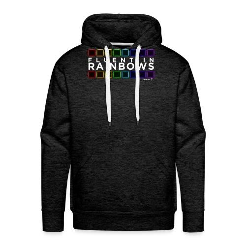 Fluent In Rainbows // Kaskobi - Men's Premium Hoodie