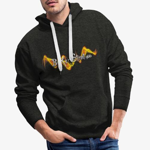 BAKERSTREET 966 - LOGO - Sweat-shirt à capuche Premium pour hommes