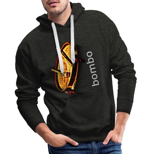 Bombo - Sudadera con capucha premium para hombre