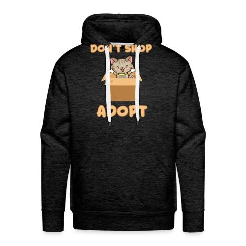 ADOBT DONT SHOP - Adoptieren statt kaufen - Männer Premium Hoodie