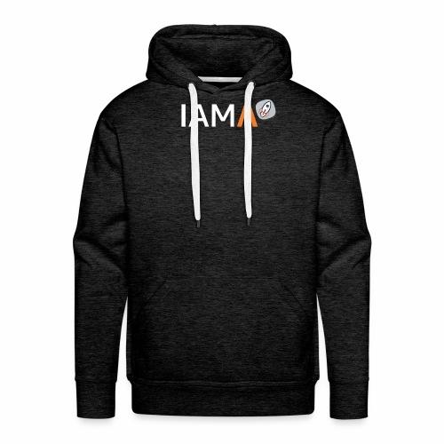 IAMΛ - Sweat-shirt à capuche Premium pour hommes