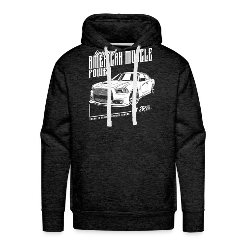 American Muscle Car V8 - Männer Premium Hoodie