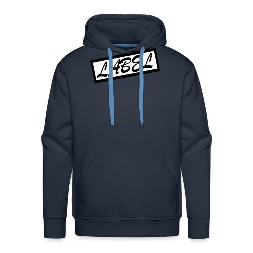 LABEL - Classic Logo - Men's Premium Hoodie