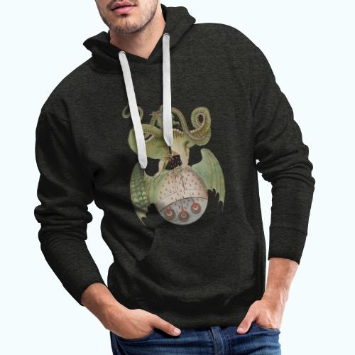 Middle Ages Dragon - Men's Premium Hoodie