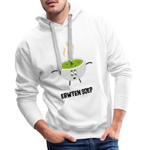 Erwten soep - Mannen Premium hoodie