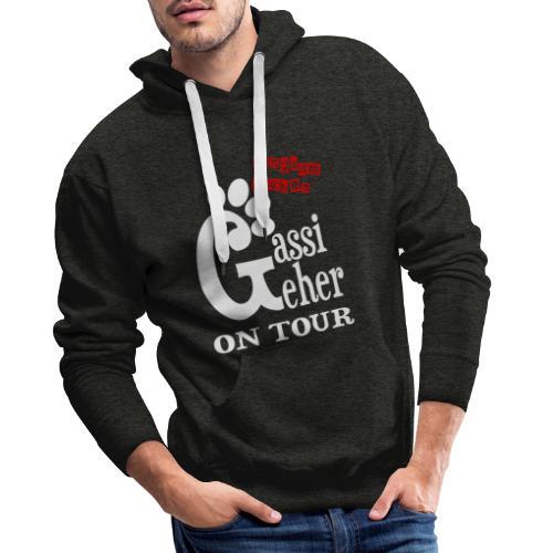 Gassigeher auf Tour - Langsam machen - Männer Premium Hoodie