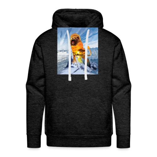lion and the elements - Men's Premium Hoodie