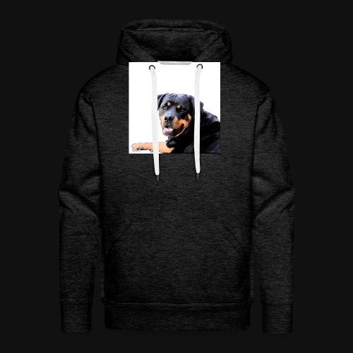 Rottweiler Kopf - Männer Premium Hoodie