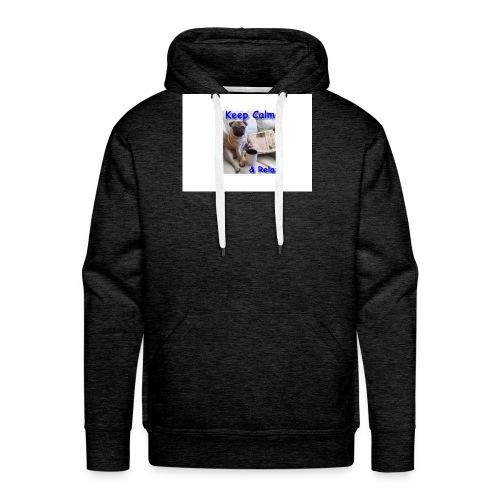 relax - Mannen Premium hoodie