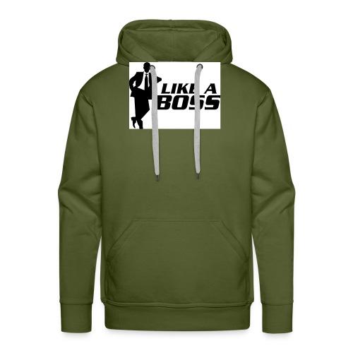 like a boss - Mannen Premium hoodie