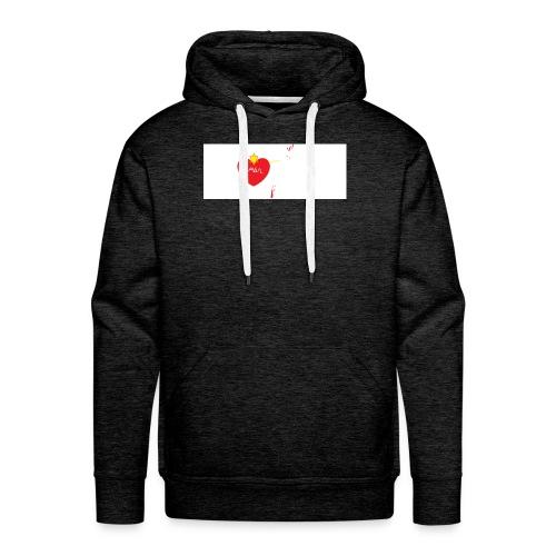 el amor de niños - Sudadera con capucha premium para hombre