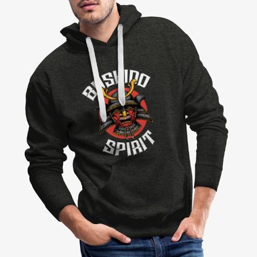 Bushido Spirit - Sweat-shirt à capuche Premium pour hommes