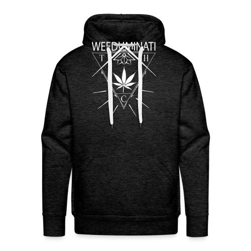 WEEDUMINATI - Sweat-shirt à capuche Premium pour hommes