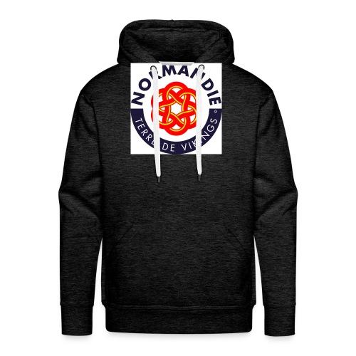 logo nie tv 08 - Sweat-shirt à capuche Premium pour hommes
