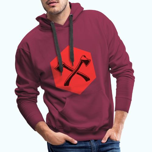 Hipster ax - Men's Premium Hoodie