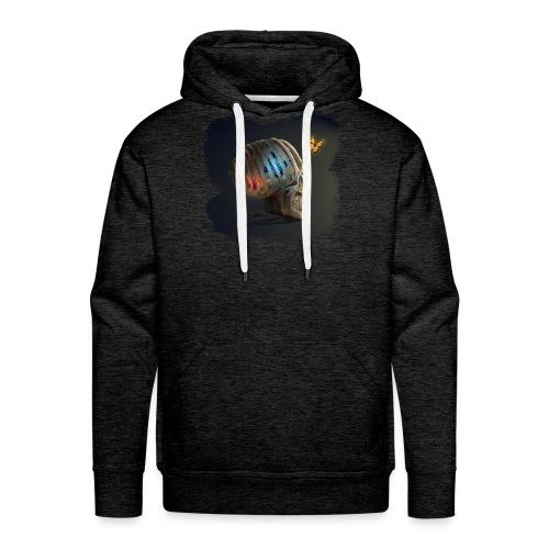 skulll - Sweat-shirt à capuche Premium pour hommes