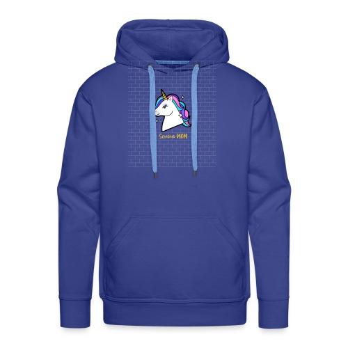 Serious MOM - Sweat-shirt à capuche Premium pour hommes