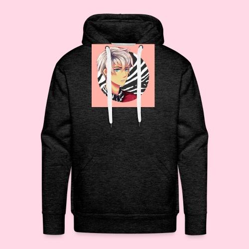 Tomas Zebra - Sweat-shirt à capuche Premium pour hommes
