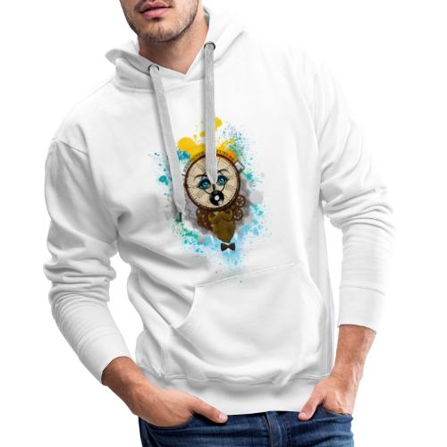 Remember the futur Souviens toi du futur - Sweat-shirt à capuche Premium pour hommes
