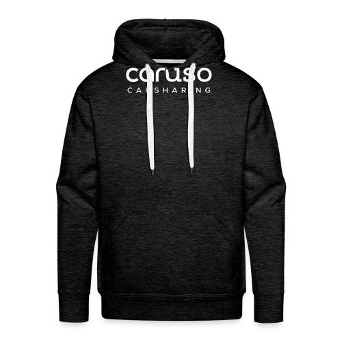 Caruso Carsharing Logo w - Männer Premium Hoodie