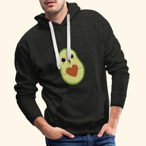 Avokati Logo - Männer Premium Hoodie