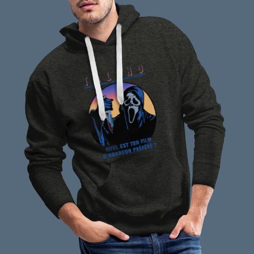 Collection Sandy.M 2021/2022 (Scream) - Sweat-shirt à capuche Premium pour hommes