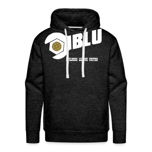 Team Blu Vector - Men's Premium Hoodie
