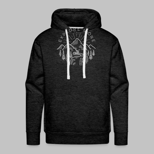 Explore more - Men's Premium Hoodie