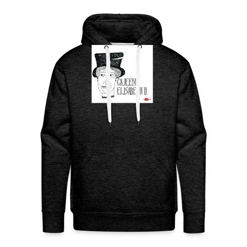 queen elisabeth ii - Mannen Premium hoodie