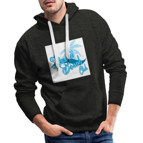 Hawaii Beach Club - Men's Premium Hoodie