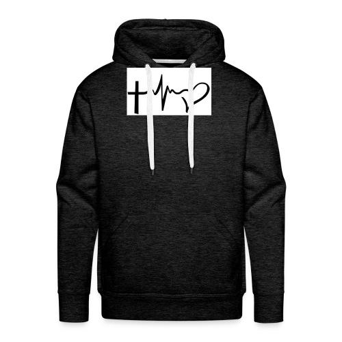 Hope,Live,Love - Men's Premium Hoodie