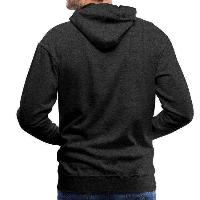 Vorschau: irgendwos hods oiwei - Männer Premium Hoodie