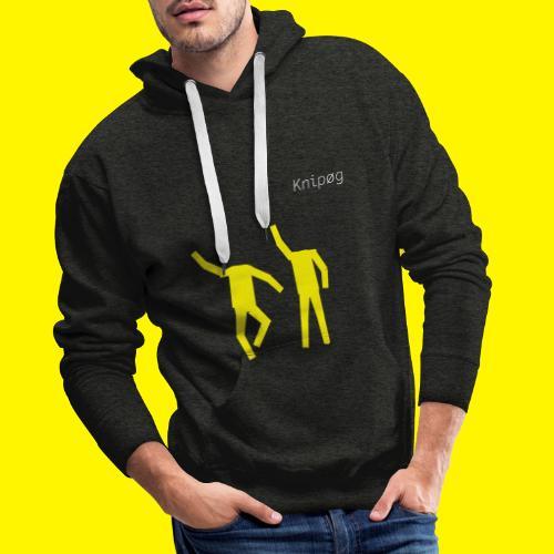Hey DJ Wie Doet Er Wat?!? - Mannen Premium hoodie